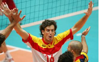 Juanjo Salvado, con la selección