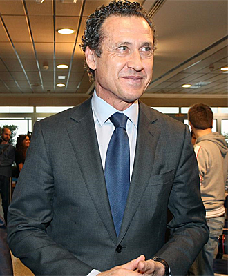 Jorge Valdano, director general del Madrid