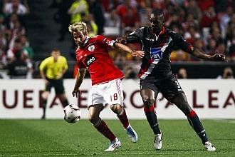 F�bio Coentrao, jugando contra el Sporting de Braga