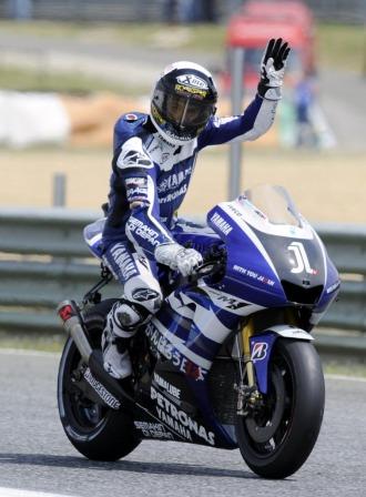 Lorenzo, tras acabar segundo en Estoril