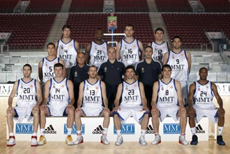 Foto oficial del Real Madrid para la Final Four