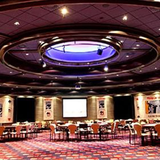 Interior de la poker room de Torrelodones.