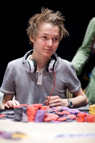 Ole-Kristian Nergard, el mejor hasta el momento en el Gran Casino Madrid.
