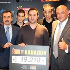 Juan García se proclama vencedor de la cuarta etapa del CEP
