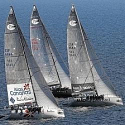 El Islas Canarias Puerto Calero tercero de la RC44' Sweden Cup