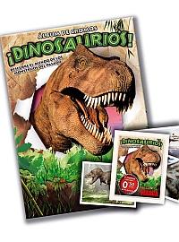El �lbum de la colecci�n 'Dinosaurios' que encontrar�s con MARCA
