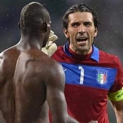 Buffon y Balotelli discutieron al acabar la final