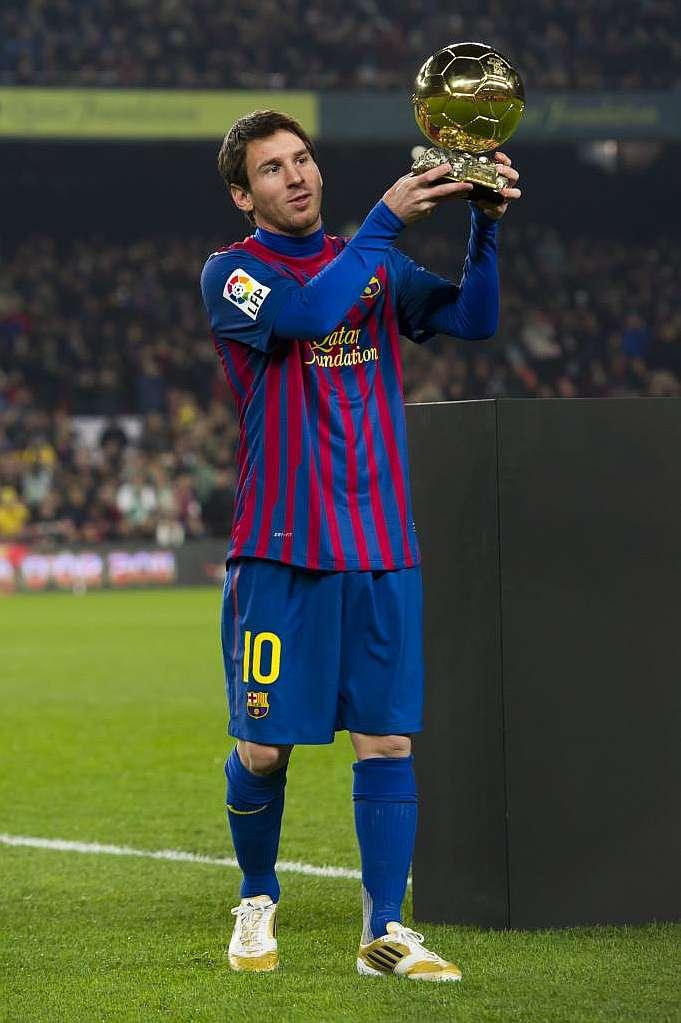Messi, favorito al Balón de Oro