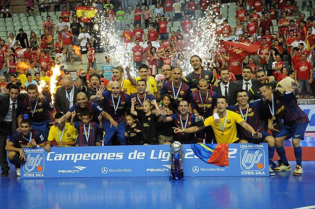 Sorteado el calendario de la liga marca 2012 2013 for Federacion de futbol sala