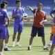 Manolo Jiménez intenta rehacer la defensa para el partido ante el Espanyol