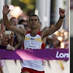 Alberto Suárez y Abderrahman Ait, oro y plata en maratón
