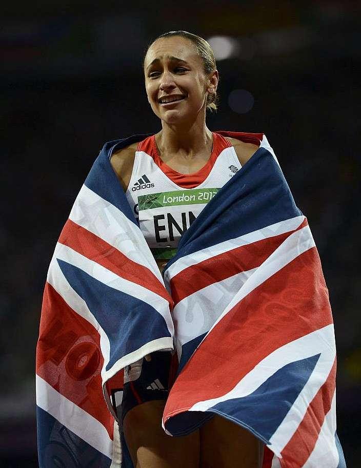 Jessica ennis medalla de oro olímpica británica ass ameman 10