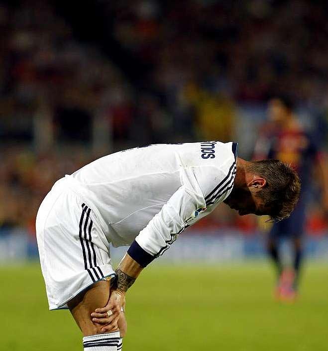 Marca Com English Version: Sergio Ramos Pushes Himself To The Limit