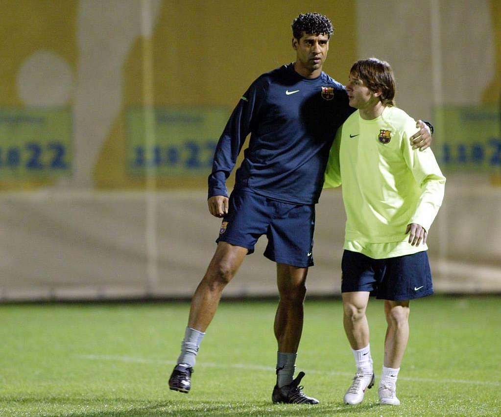 Saudi Arabia Argentina friendly reunites Rijkaard and Messi
