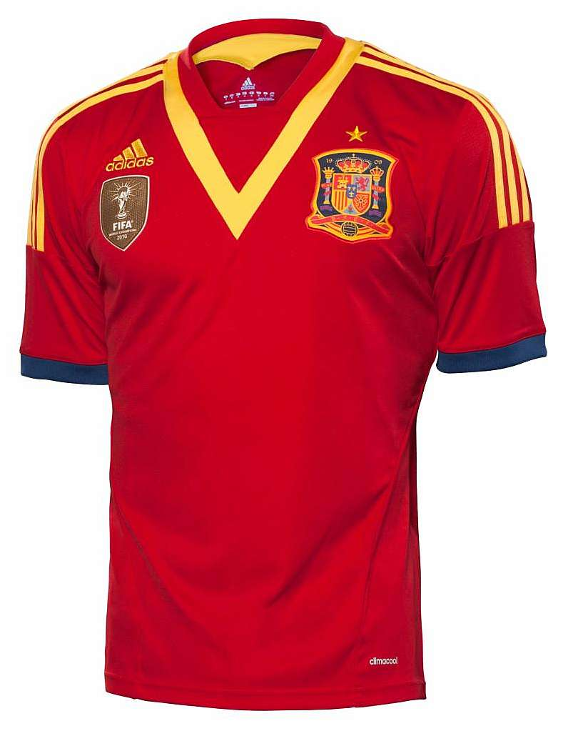 National Team Football Strip Spain