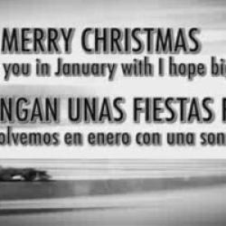 Alonso te felicita la Navidad