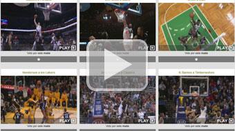 Encuesta sobre los mejores mates NBA de 2012