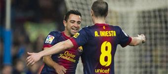 El Barcelona resuelve el derbi con una goleada fcad63172f695