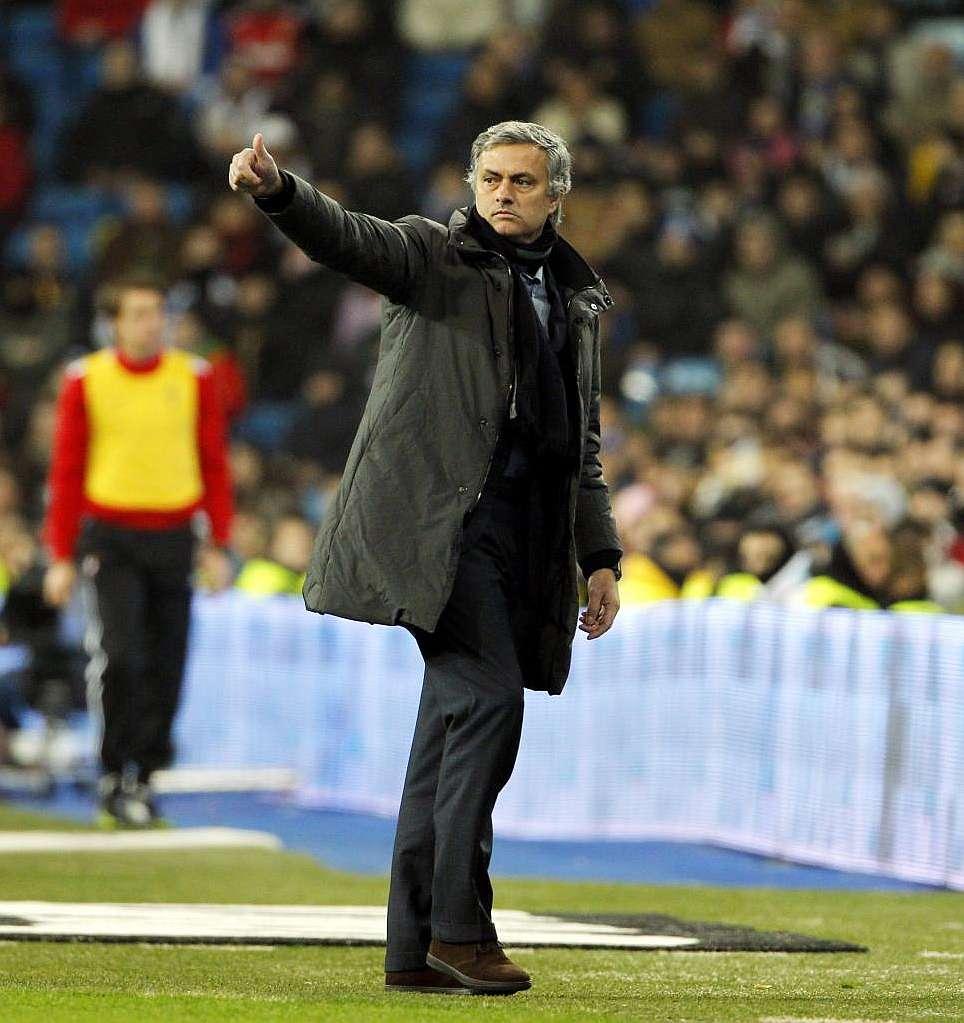 Marca Com English Version: Mourinho To Complete 600 Games