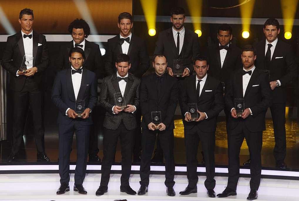 jugadores de la liga europea: