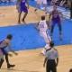 El mate 'tramposo' de Kevin Durant a lo Blake Griffin