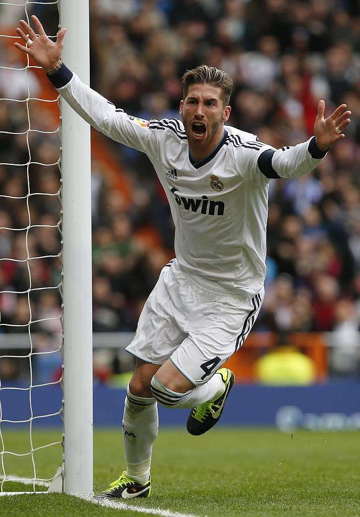 Sergio ramos one mistake against manchester united and - Sergio madrid ...