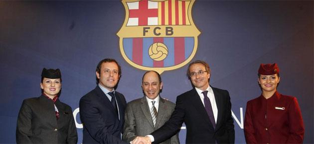 Qatar Airways to sponsor Barça