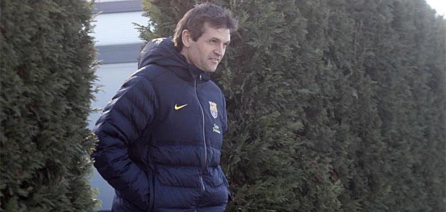 Vilanova alecciona telefónicamente a sus jugadores