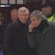 �De qu� hablaron Mourinho y Ferguson tras la roja a Nani?