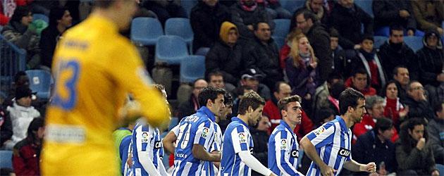 La Real da otro disgusto al Calderón