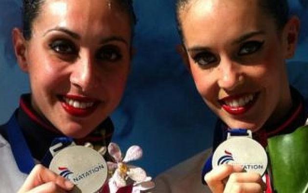 Ona Carbonell y Marga Crespí debutan como dúo con una plata en Montreuil