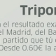 La Triporra: Real Madrid, Barcelona y tu equipo favorito