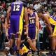 Jones dice que no lesionó intencionadamente a Kobe, que sigue de baja indefinida y los playoffs peligran