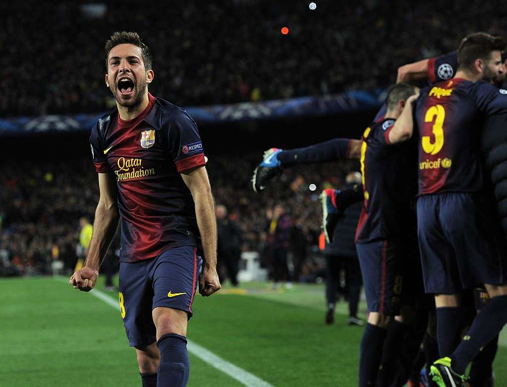 """Jordi Alba """"Ibrahimovic is one of the best and PSG will miss him"""