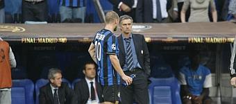Mou se reencuentra con Sneijder y Drogba