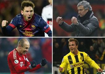 Madrid, Barça y dos alemanes