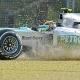 Hamilton: Que Rosberg esté tercero demuestra que somos competitivos