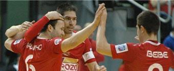 ElPozo Murcia toma ventaja en las semifinales de la Copa del Rey