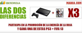Conquista la gloria con la Selección y llévate lun pack PS3+FIFA 13