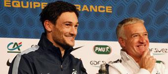 Lloris: Varane está listo para jugar en la selección