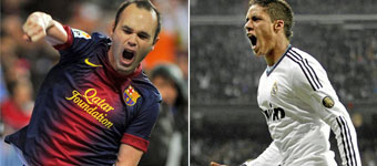 Ni Messi ni Cristiano... ¡Iniesta y Varane!