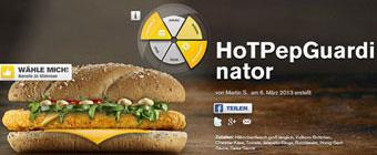 Locura en Alemania: crean una hamburguesa inspirada en Guardiola