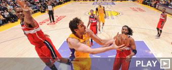 Los Wizards amargan a Pau Gasol el retorno tras un mes de baja
