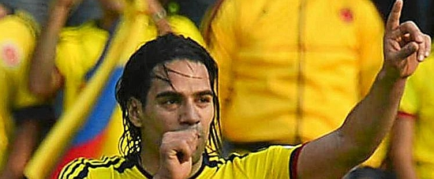 Falcao to become a father