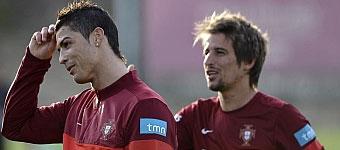 Cristiano y Coentrao no se entrenan con Portugal