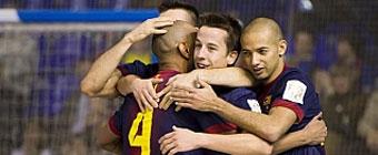 El Barcelona se escapa tras el empate entre ElPozo e Inter