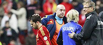 Jordi Alba deja la concentración tras confirmarse su lesión