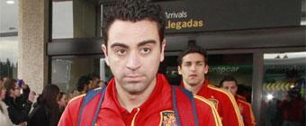 Xavi se entrena con normalidad y apunta a París