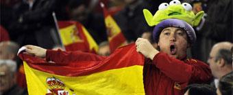 La afición confía en la victoria española en París