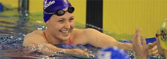 Melanie Costa bate el récord de España de los 100 libre